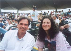 Andrea and wizard Billy Beane